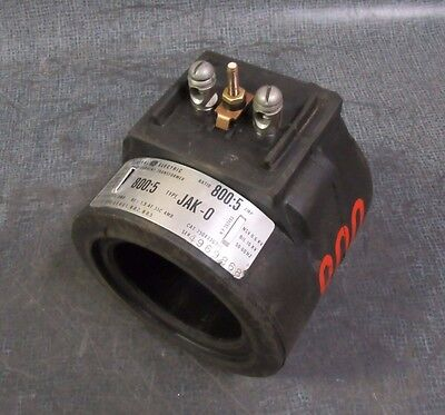 Ge Jak-0 Current Transformer 800 : 5 Amp  Model: 750X33G306