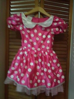 Kids preowned Minnie Mouse costume
