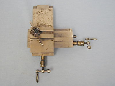 Watchmakers  Lathe ~ Compound Cross Slide