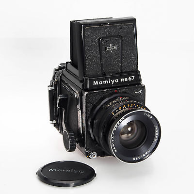 Mamiya RB67 Medium Format Film SLR Camera W/ 90MM F3.8 Lens