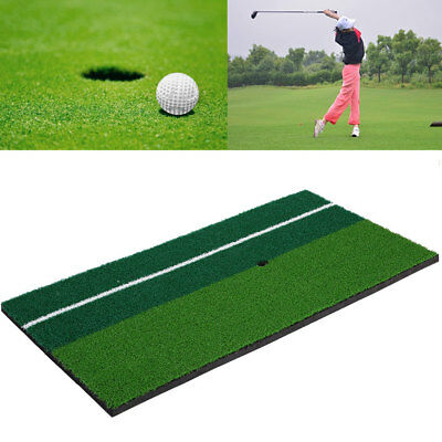 "12""x24"" Golf Hitting Golfing Mat Pad Rug Floor Indoor Putting Practice"