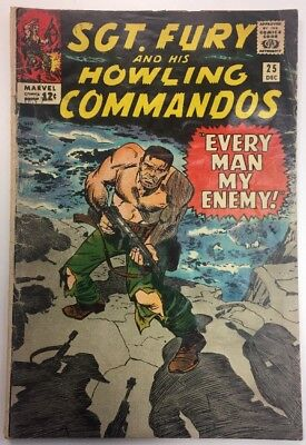 Sgt. Fury and His Howling Commandos #25