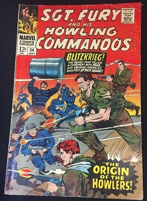 Sgt. Fury And His Howling Commandos #34 Howlers Origin