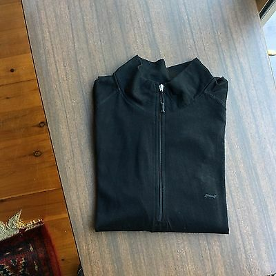 Driza Bone 100% Merino Wool Mens Half Zip Thermal Top Size L Euc