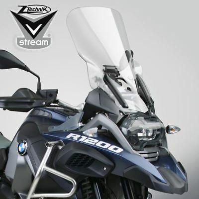 VStream Windshield - Touring Deluxe, Clear for BMW R1200GS & Adventure LC