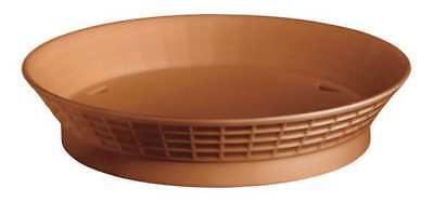 TABLECRAFT PRODUCTS COMPANY 15759TC Diner Platter w/Base, 9 In, TCotta, PK12