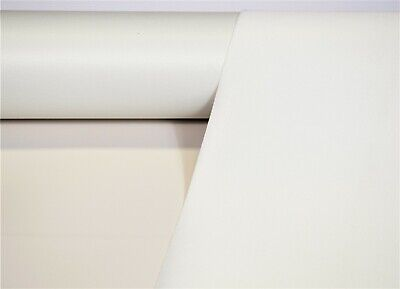 """Marine Vinyl Fabric Off White 10 Yards Outdoor Auto Boat Upholstery 54"""" Wide"""