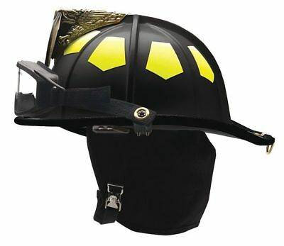 Fire Helmet,Black,Traditional BULLARD UM6BKGIZ2