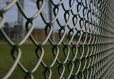 1.5m High Black PVC Coated Chain Link / Chain wire/ Fence only $135