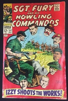 Sgt. Fury And His Howling Commandos #54