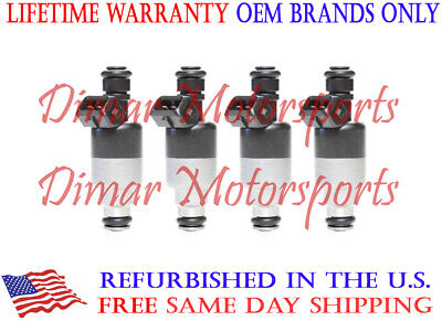 5235130 Lifetime Warranty-Set of 2 OEM Remanufactured Throttle Body Injectors