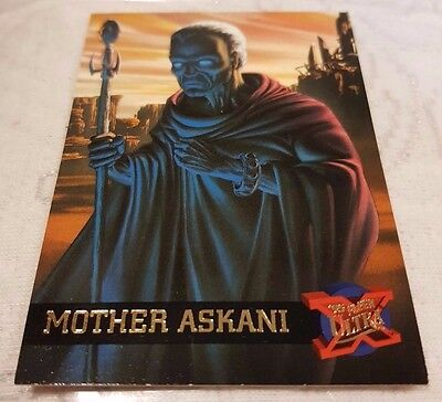 Marvel Fleer Ultra #31 MOTHER ASKANI 1995 X-Men Trading Card