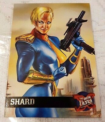 Marvel Fleer Ultra #43 SHARD 1995 X-Men Trading Card