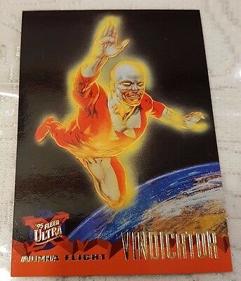 Marvel Fleer Ultra #57 VINDICATOR 1995 X-Men Trading Card