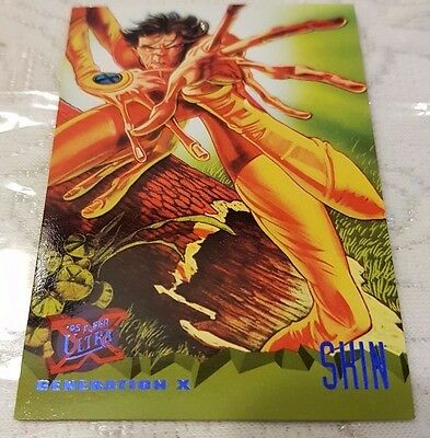 Marvel Fleer Ultra #77 SHIN 1995 X-Men Trading Card