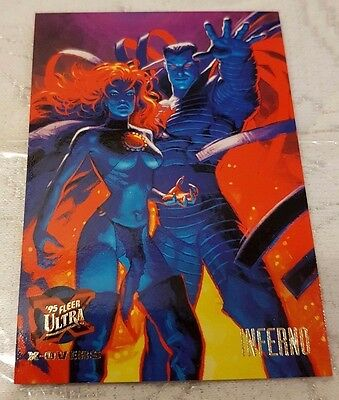 Marvel Fleer Ultra #122 INFERNO 1995 X-Men Trading Card