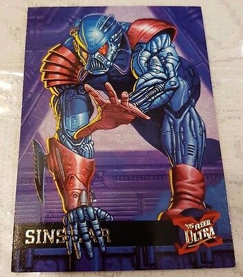 Marvel Fleer Ultra #46 SINSEAR 1995 X-Men Trading Card