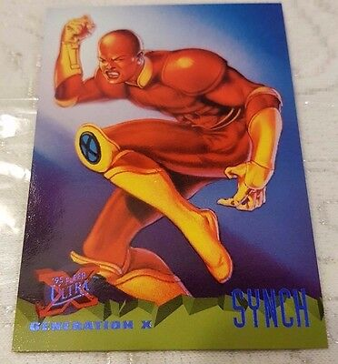 Marvel Fleer Ultra #78 SYNCH 1995 X-Men Trading Card