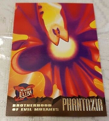 Marvel Fleer Ultra #59 PHANTAZIA 1995 X-Men Trading Card