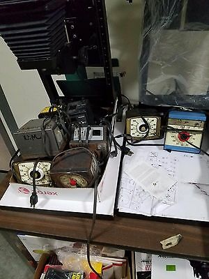 Lot of photo equipment, cameras, enlarges, developers and more