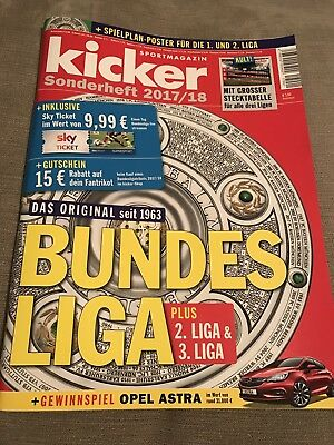 Kicker Sports Magazine German Bundesliga (Season 2017/2018) **Language German**