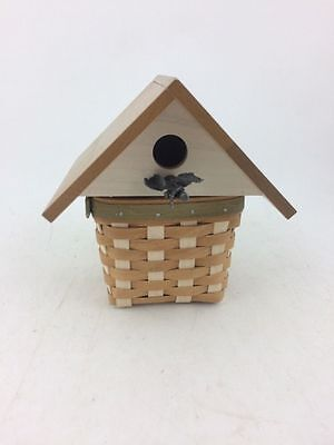 Longaberger 2009 Collectors Club Birdhouse Basket with Protector and Topper~NWOB