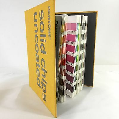 Pantone Solid Chips Uncoated Color Book Good Condition Used