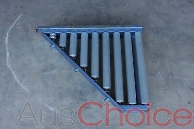 Lemcol Conveyor Angled Roller Section 800mm x 600mm x 150mm