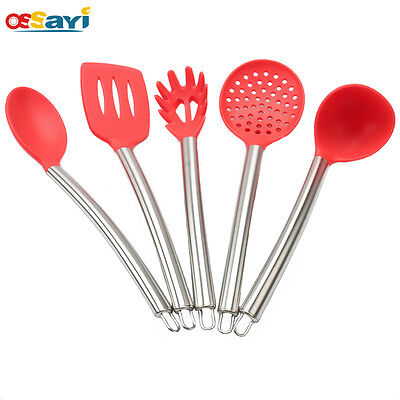 1Pc Kitchen Cooking Utensils Set Non-Stick Silicone Heat Resistant Baking Tools