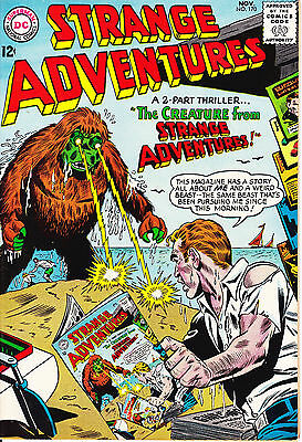 STRANGE ADVENTURES #170 - 1964 - Infinity Cover - PRICED TO SELL-12c cover-8.0VF