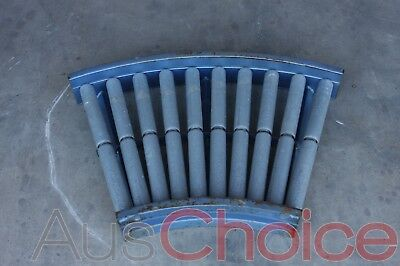 Lemcol Conveyor Curved Roller Section - 950mm from Side to Side