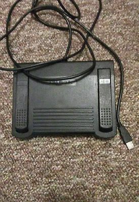 Gently Used Infinity IN-DVI-USB Transcription Foot Pedal
