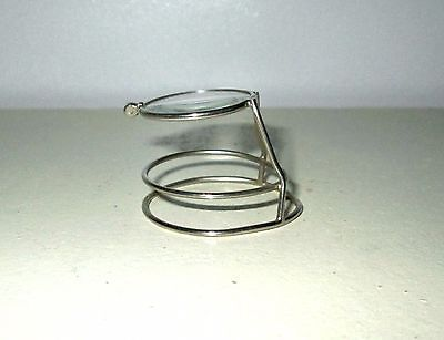 Antique Echarco Jewelers Loupe Magnifying Glass Vtg Retro Deco Steampunk 1910