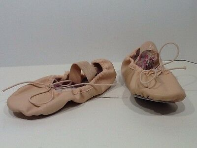 CAPEZIO Toddler Girl Daisy Size 10 M Pink Leather Ballet Shoes X4-30