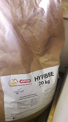Hyfeed Hyfibre Soy Hull pellets 2 bags, 1 unopened, 1 almost full