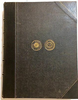 Rare Nova Constellatio edition - The Early Coins of America by Crosby 1875