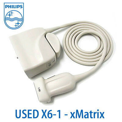 Philips X6-1 Probe 4D Transducer with Explora Connector for LIVE 3D Ultrasound