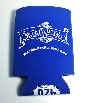 NEW SweetWater Brewing Company 420 Pale Ale Beer Coozie Koozie Cozy Advertising