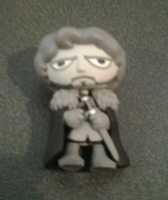 Game of Thrones in Memoriam Robb Stark (Black and White) Mystery Mini