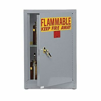 EAGLE 1904 GRAY Flammable Safety Cabinet, 4 Gal., Gray