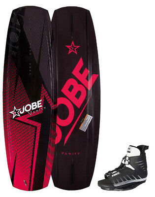 Wake Men Vanity package 131cm avec chausses Unit Bindings - wakeboard