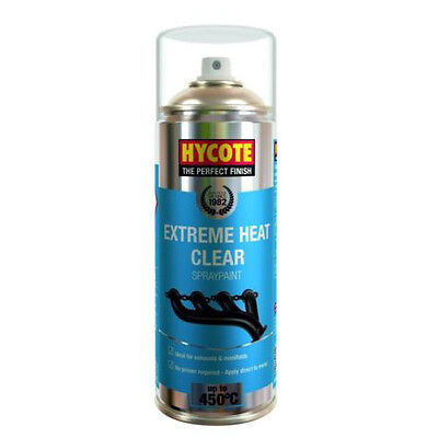 Hycote Very High Temperature Clear Spray Can Paint 400ml