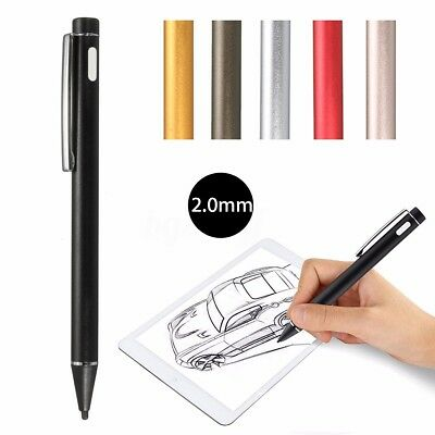 2mm Rechargeable Stylet Stylo Stylus Tactile Actif Capacitif Pr iPhone Tablette