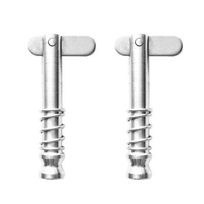 2pcs 4.3cm 316 Stainless Steel Quick Release Pins for Boat Top Deck Hinge