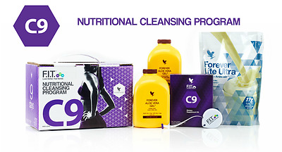 Forever Living Clean 9 Pack / C9 Clean9 Day Detox - Vanilla or Chocolate New