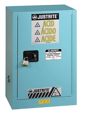 JUSTRITE 891202 Corrosive Safety Cabinet, 35 In. H, Steel
