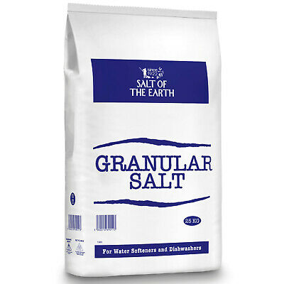 Salt of the Earth GRANULAR SALT 25KG BAGS | Water Softener Dishwasher Food Grade