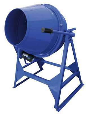 MARSHALLTOWN MIX61112 Concrete Mixer, 3 Cu. Ft., Electric, 1/2HP