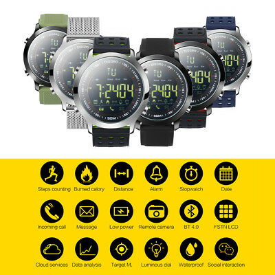 Diggro DI04 IP68 Waterproof Smart Watch Pedometer 8-month Standby Call Stopwatch