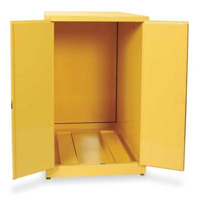EAGLE 1928 Flammable Cabinet, Horizontal, 55 Gal., YLW